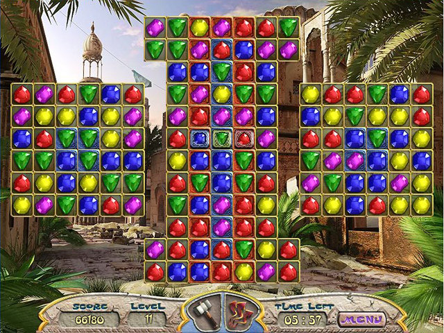 Ancient Jewels. Addictive puzzle match 3 free game by GameGlade.com ...